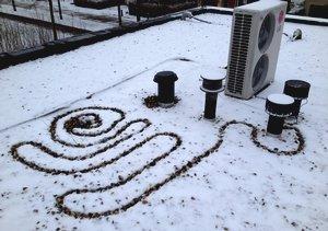 Sneeuwvrij dak