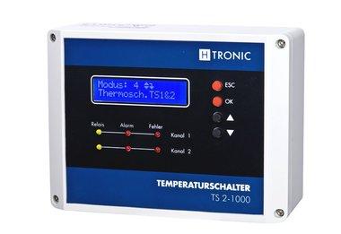 Temperatuurregelaar 2xPT1000