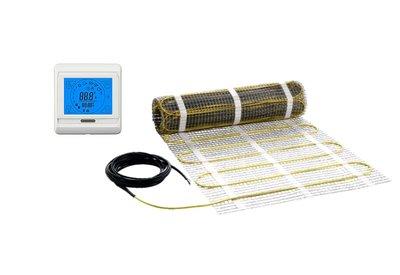 Vloerverwarmingsmat + aanraakthermostaat