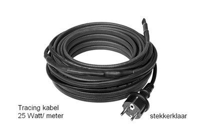 Tracing-kabel 25 W/m