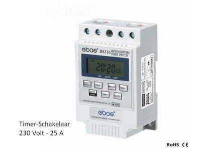 Timer Schakelaar 230 Volt - 15A